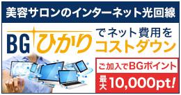 美容サロンのインターネット光回線 BGひかりでネット費用をコストダウン